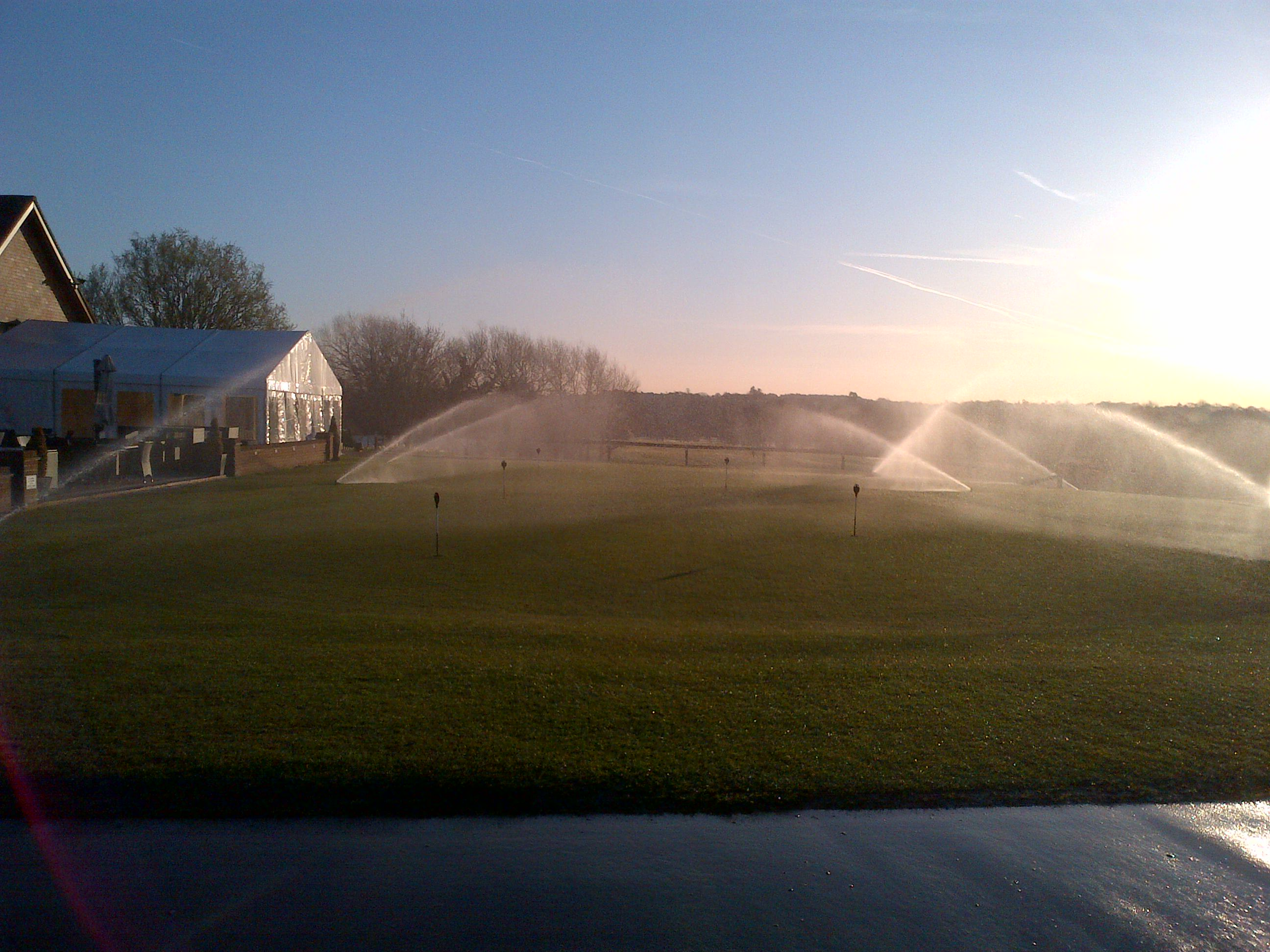 Course works Wk Beginning Monday th March Windlesham Golf